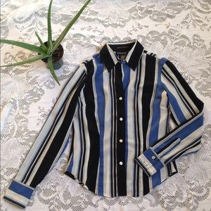 Sheer Button-down Shirt Size XS